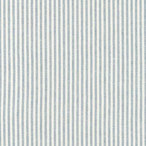 Small Stripe Yarn Dyed Woven in Chambray