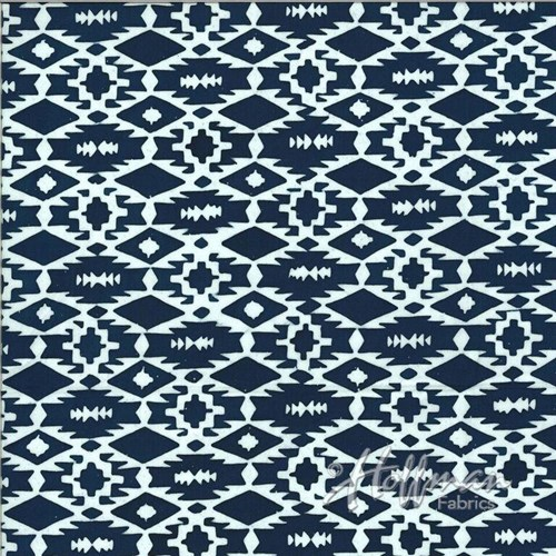 Southwestern Weave in Denim