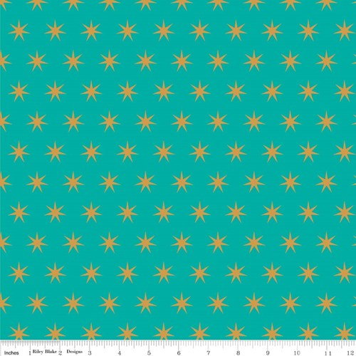 Sparkle Star in Teal