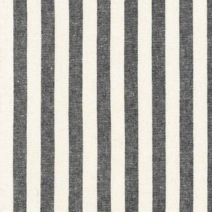 Stripe Yarn Dyed Woven in Black