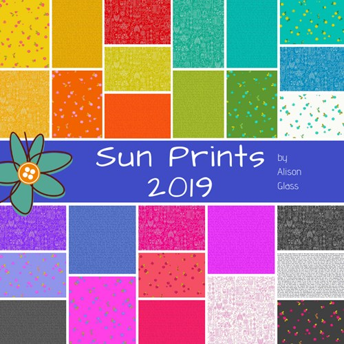 Sun Prints 2019 Fat Eighth Bundle