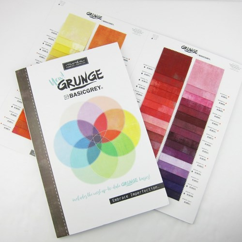 Grunge Color Card