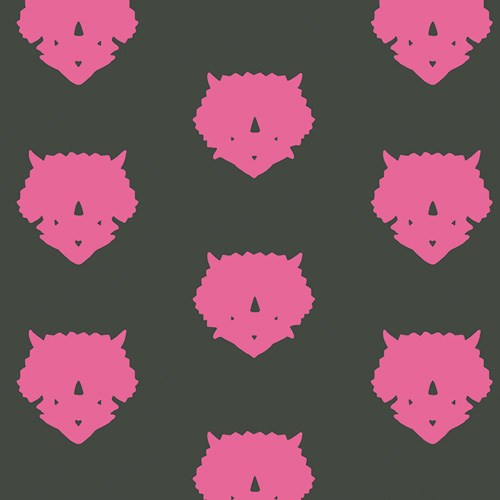 Triceratops in Pink