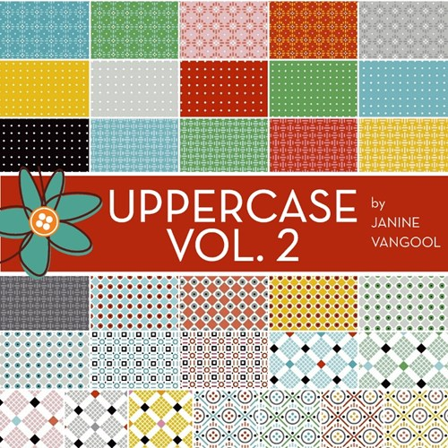 Uppercase Volume 2 Charm Pack by Janine Vangool