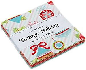 Vintage Holiday Charm Pack by Bonnie and Camille