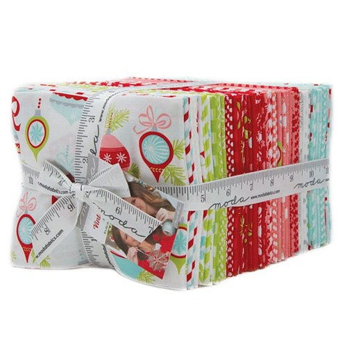 Vintage Holiday Fat Quarter Bundle by Bonnie and Camille