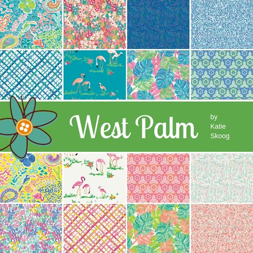 West Palm Fat Quarter Bundle