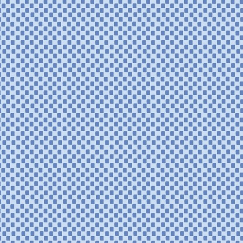 Checkers in Blue
