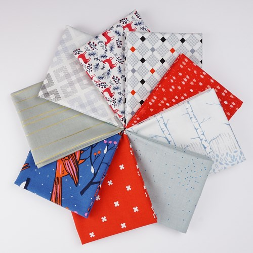 Winter Wonderland Fat Quarter Bundle