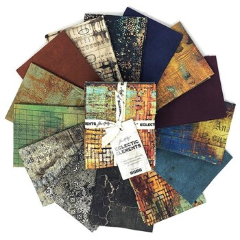 Abandoned Fat Quarter Bundle | Tim Holtz | 14 SKUs