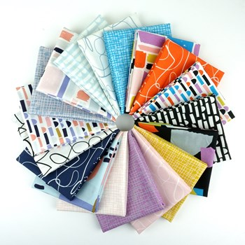 Abstract Collage Fat Quarter Bundle