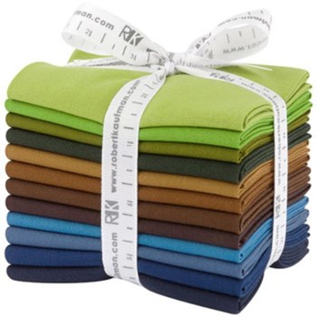 Adventure Palette Kona Cotton Fat Quarter Bundle