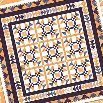 All Hallow's Eve Medallion Quilt Kit