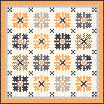 All Hallow's Eve Midnight Crossing Quilt Kit