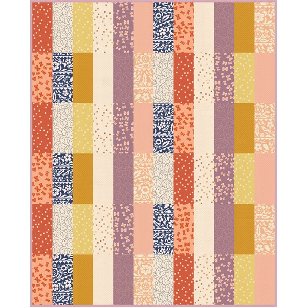 Alma Swatch Whole Cloth Quilt Kit