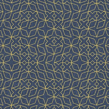 Almost Blue Stitch - Indigo Metallic