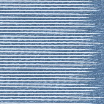 Almost Blue Stripe - Vintage