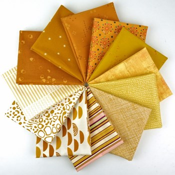 Color Play Amber Waves Fat Quarter Bundle - Fat Quarter Bundle