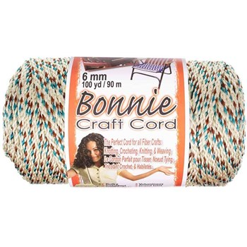 Bonnie Macrame Craft Cord 6mm x 100yd - Sandlewood