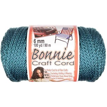 Bonnie Macrame Craft Cord 6mm x 100yd - Denim