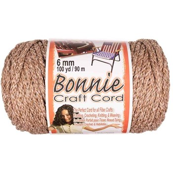 Bonnie Macrame Craft Cord 6mm x 100yd - Pottery