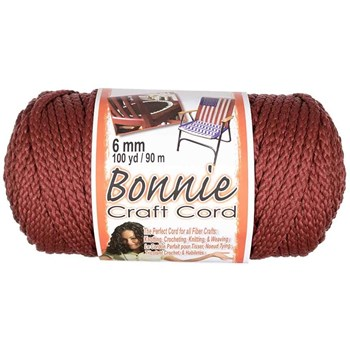 Bonnie Macrame Craft Cord 6mm x 100yd - Wine