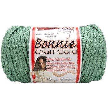 Bonnie Macrame Craft Cord 6mm x 100yd - Sage
