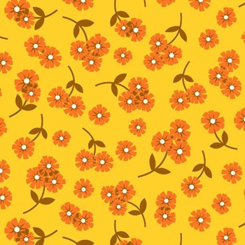 Butterscotch Daisies - Yellow