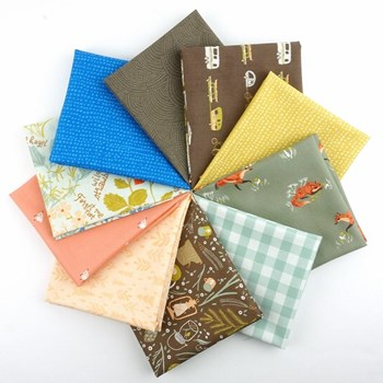 Camp Wander Fat Quarter Bundle
