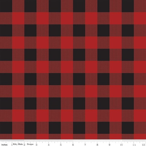 Camping Plaid - Red