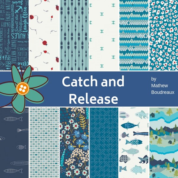 Catch and Release Fat Quarter Bundle
