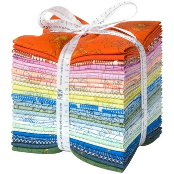 Collection CF Fat Quarter Bundle by Carolyn Friendlander - Colorful Colorstory
