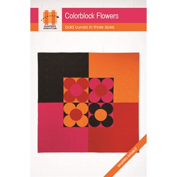 Colorblock Flowers Quilt Pattern | Sam Hunter - PDF