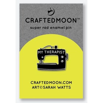 Craftedmoon Enamel Pins - My Therapist
