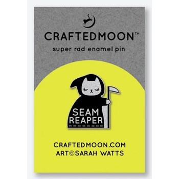 Craftedmoon Enamel Pins - Seam Reaper