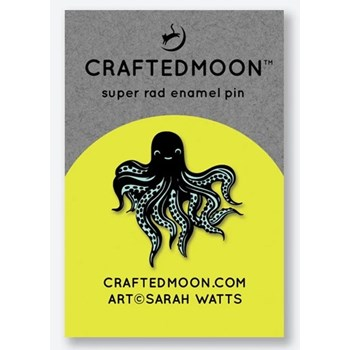 Craftedmoon Enamel Pins - Octo