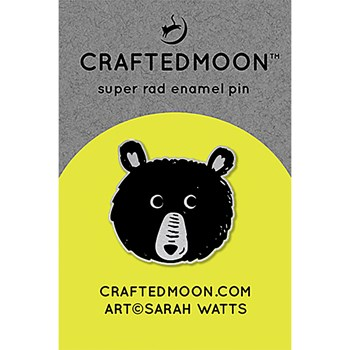 Craftedmoon Enamel Pins - Teddy