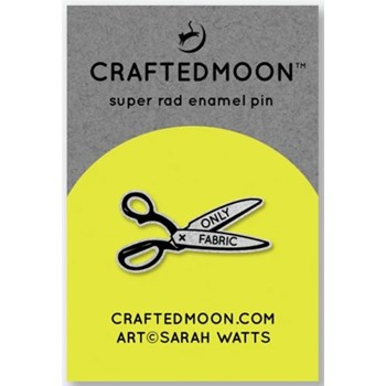 Craftedmoon Enamel Pins - Only Fabric
