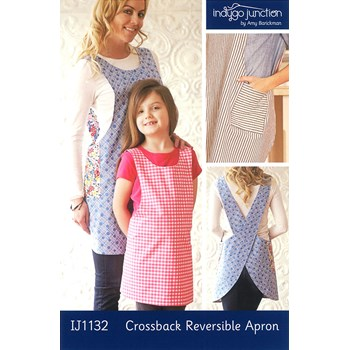 Crossback Reversible Apron Pattern by Indygo Essentials