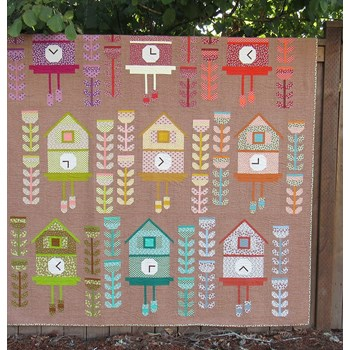 Cuckoo Quilt Kit by Elizabeth Hartman