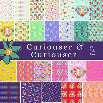 Curiouser & Curiouser Fat Quarter Bundle | Tula Pink - Full Collection