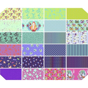 Curiouser & Curiouser Fat Quarter Bundle | Tula Pink - Daydream