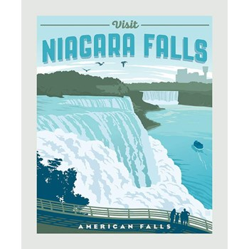 Destinations Poster Panel - Niagara Falls