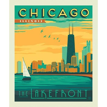 Destinations Poster Panel - Chicago