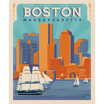 Destinations Poster Panel - Boston