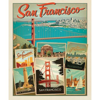 Destinations Poster Panel - San Francisco