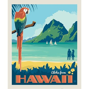Destinations Poster Panel - Hawaii