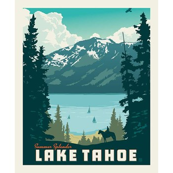 Destinations Poster Panel - Lake Tahoe