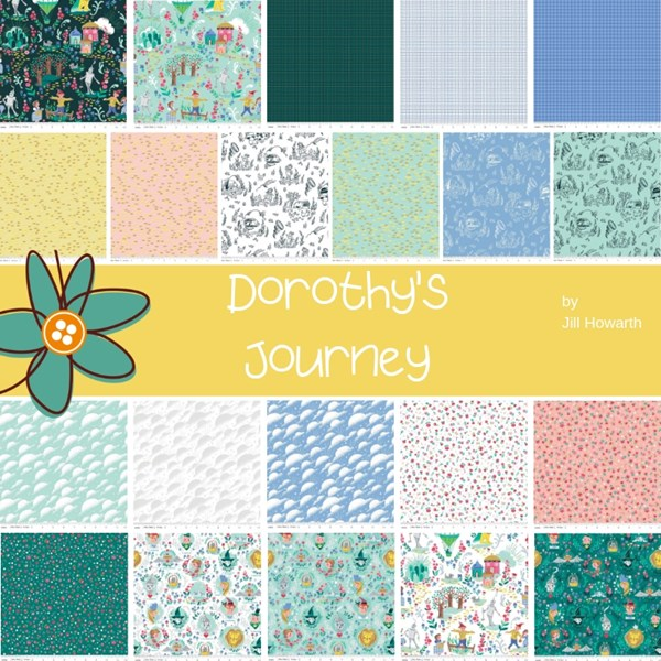 Dorothy's Journey Fat Quarter Bundle