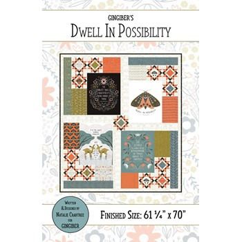 Dwell in Possibility Quilt Pattern by Gingiber